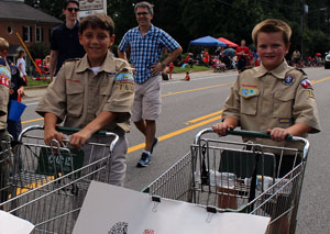 Scouts to Collect Food at July 4th Parade!